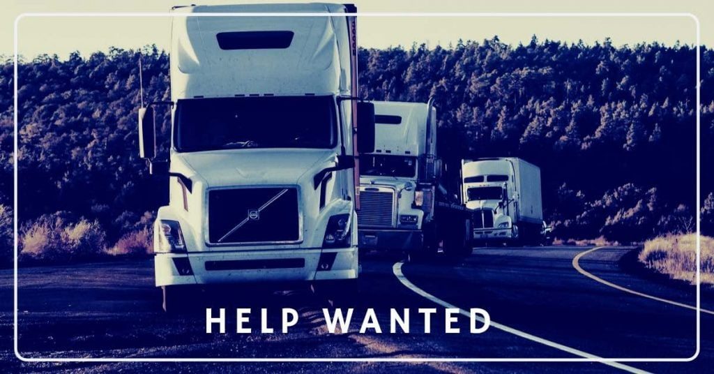 Trucking Help Wanted
